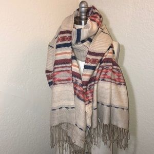 🍀Lucky Brand🍀 Native American shawl